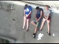 Circle-Jerk on the roof
