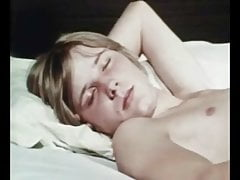 Beautiful boys in bed - vintage