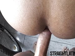 He caught himself another straight Latino guy for barebackin