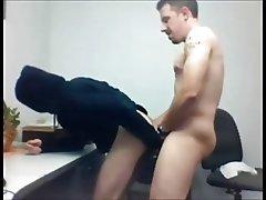 Boss's Break with Intern at Work