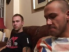 Two hot british suck other off
