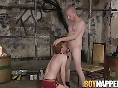 Redhead twink ass dominated by dom after feet worshiping|38::HD,63::Gay,1921::Bondage,2001::Fetish,2111::Rough Sex,2141::Twink