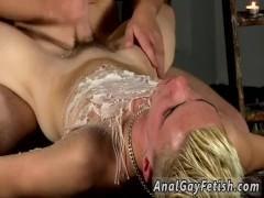 Young gay twink bondage movietures Splashed