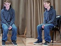 Gay Man Spanks Freeloading Straight Boy