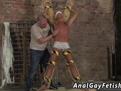 Sissy gay twinks swallow cum Slave Boy Made