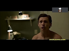 LEAKED Tom Holland Nude Dick Pics &amp_ Jerk Off Tape!