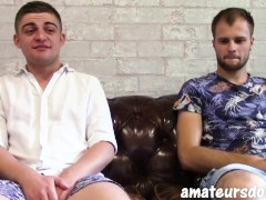 'Australian Submissive Young Twink Pleads For His Hung Top To Fuck His Hole and Cum'