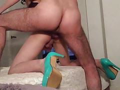 cute small asian crossdresser gets fucked
