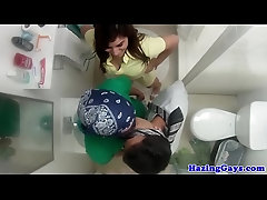 College straighty ass screwed after kissing