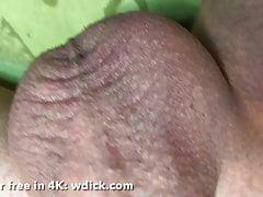 Lonley boy masturbate his dick in bedroom