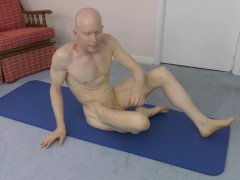 'Horny Gay Nudist Exercise'