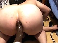 'Bubble Butt Teen First Time Fucking BBC Hismith Fucking Machine '