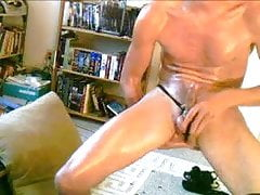 Hot Oily Thong Jack