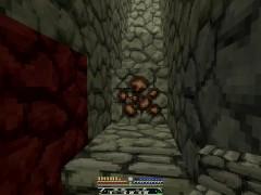 'Minecraft RLcraft Part 3 - Making The Diamond Mine'