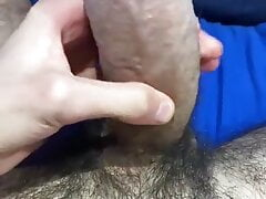 Sexy curved italian cock