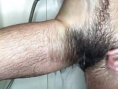 cockteau twink hairy bush bath