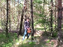 'Czech Hunter 561 - His In The Woods To Pick Mushrooms But Ends Up Picking Up A Twink To Fuck'