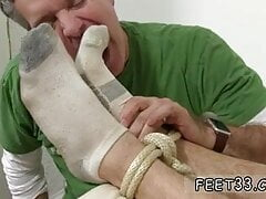 Small feet gay twinks KC Captured, Bound & Worshiped